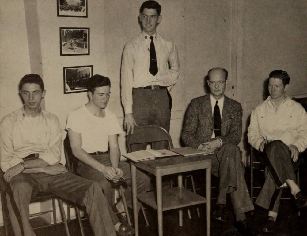 Delta Chapter Brothers, 1949.