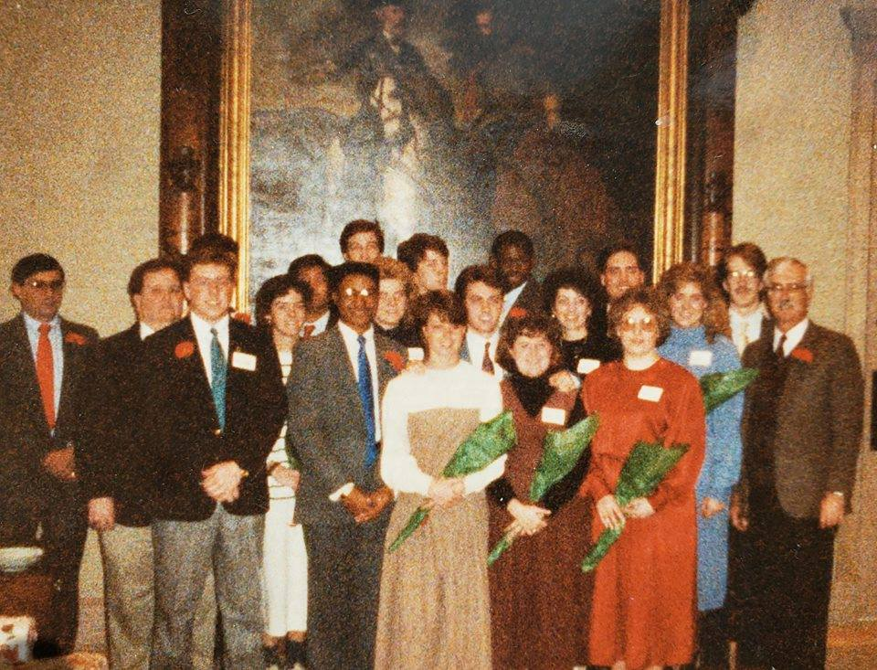 Kappa Chapter Installations, dated February 19, 1989.
